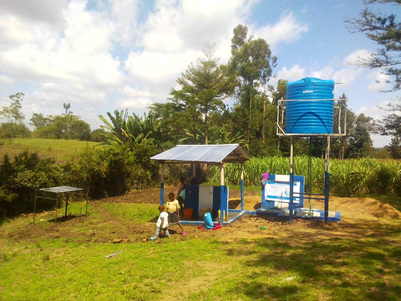 Water Well – Kajei Village, Kenya